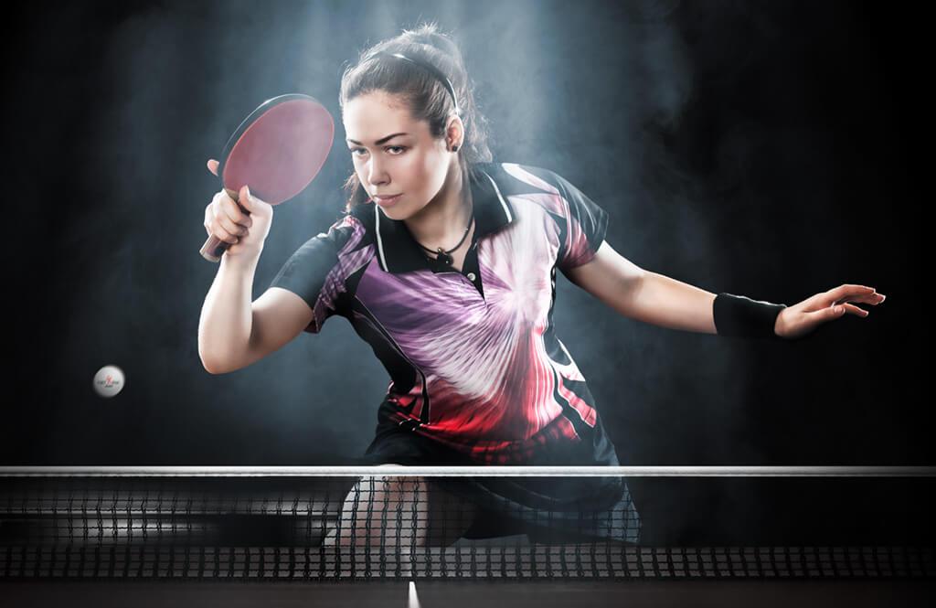 Bildbearbeitung Migros Sportpark - Tischtennis