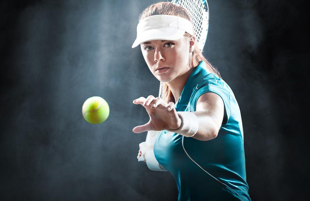 Bildbearbeitung Migros Sportpark - Tennis