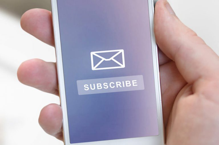 E-Mail Marketing - Newsletter Subscription