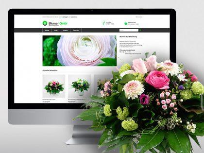 Vorschaubild Online-Shop für Blumen Gmür