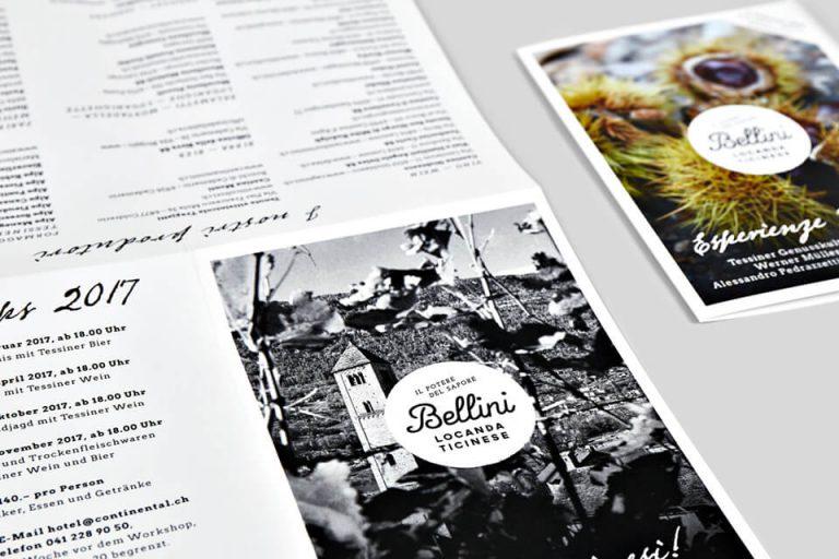 Eventkartendruck für Bellini 03