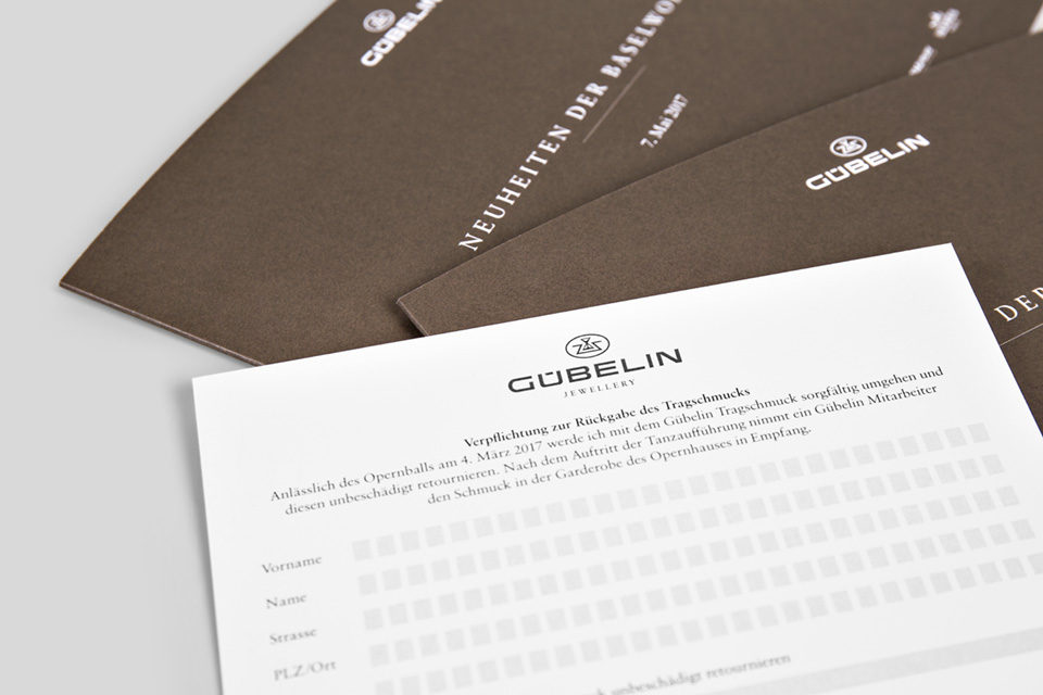 Gübelin Einladungskarte Basel World