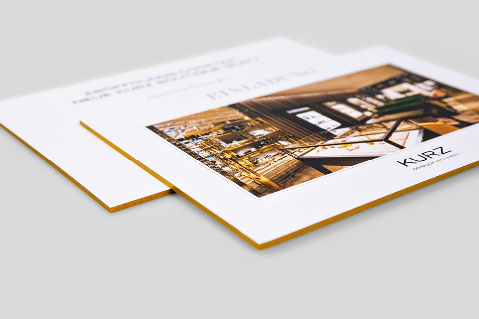 Einladungskarte für KURZ - Bild 02
