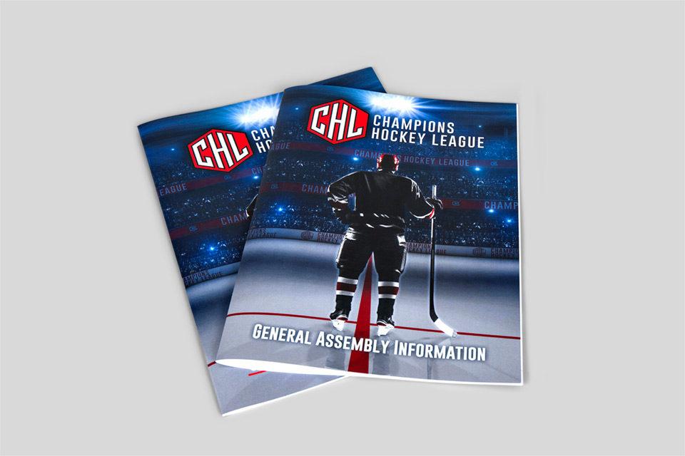 Broschüre Hockey Champions League 01