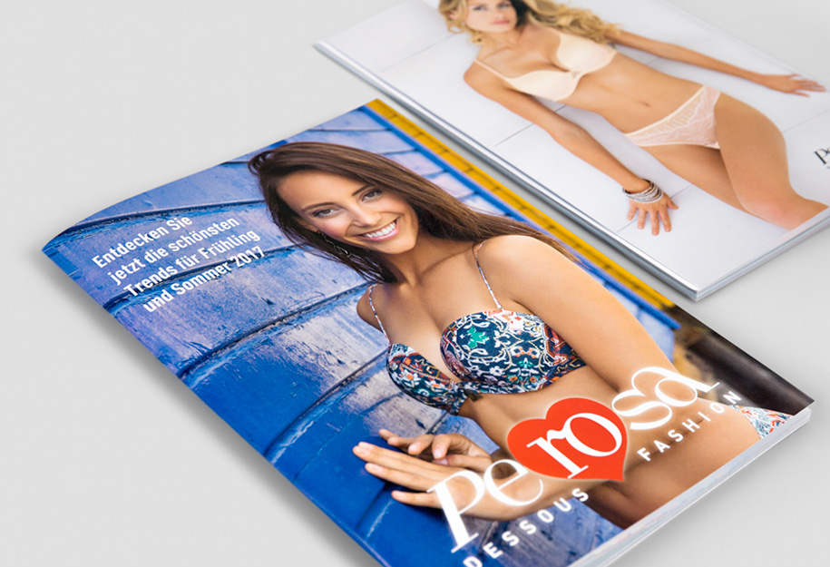 Bildbearbeitung Katalog für Perosa
