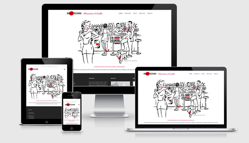 Vorschaubild Webseite Ludek Martschini