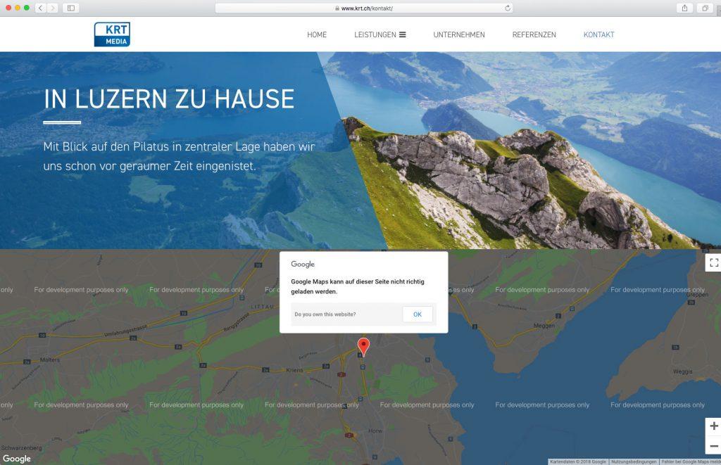 Madison : Google maps api key free for development purposes only