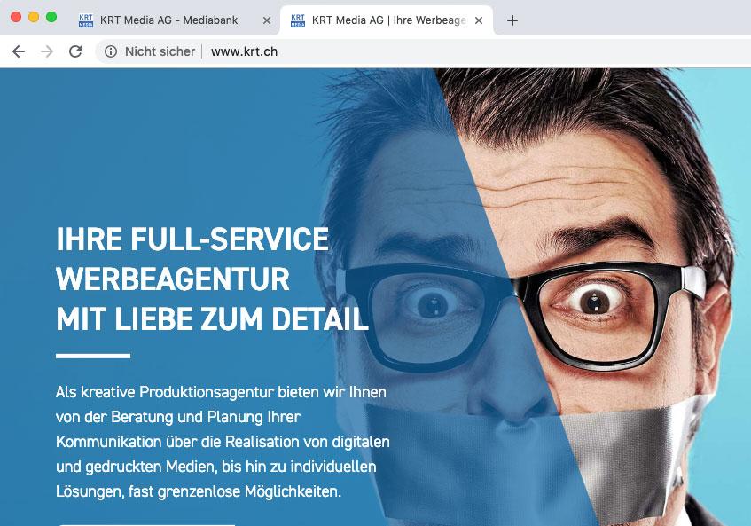 Die Meldung nicht sicher erscheint bei laden der Webseite ohne SSL-Zertifikat