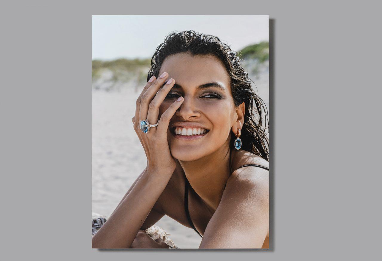 Bildbearbeitung & Alubildproduktion für Schaufenster